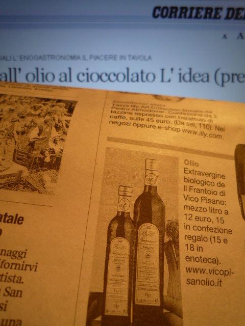 Vicopisano on Corriere della Sera
