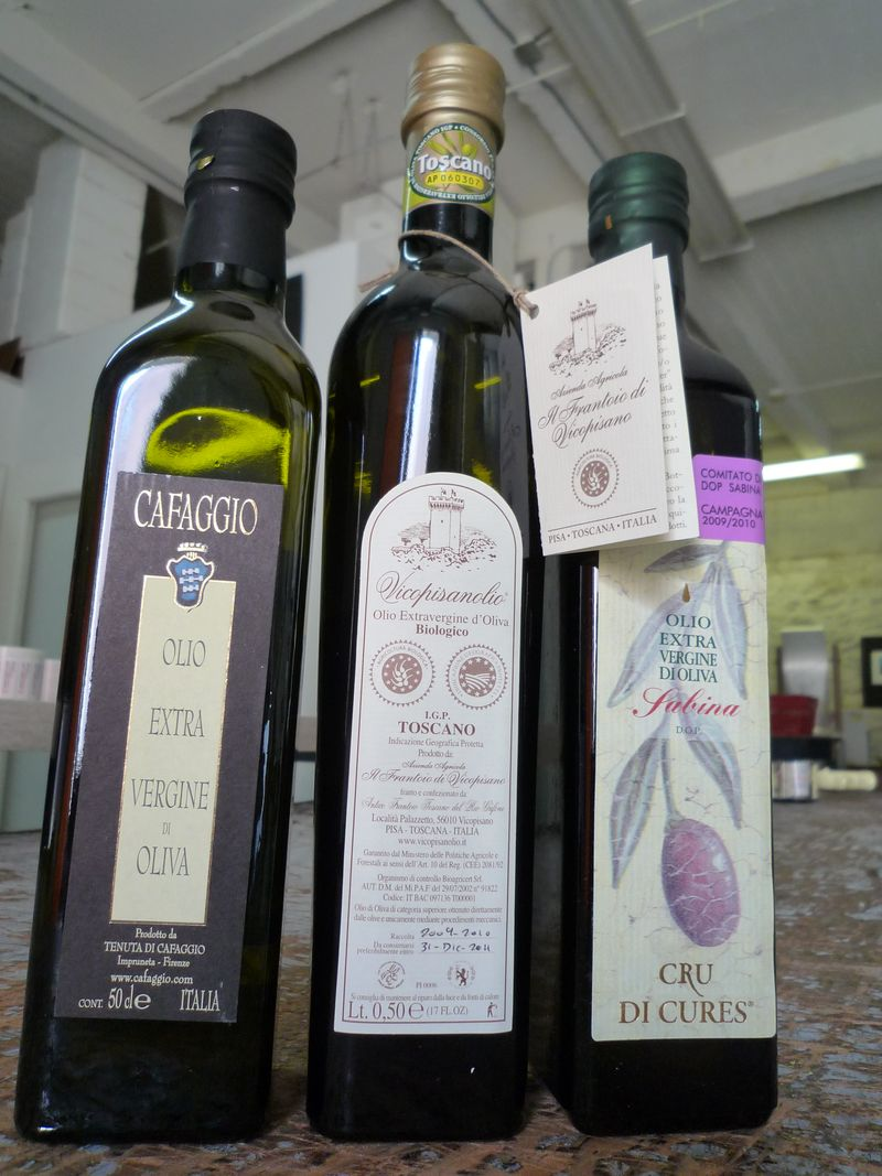 Italian Extra Virgin Olive Oils