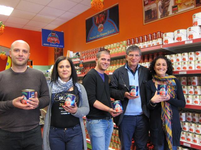 Danicoop - Pasquale, Edoardo, Mamma, Paolo, Lucia