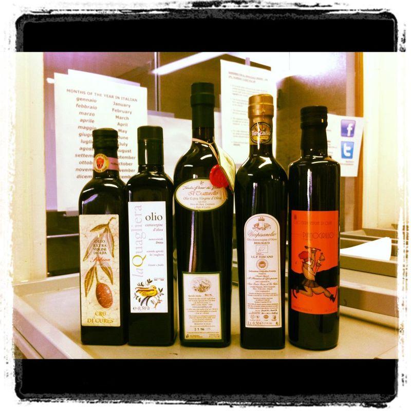 New EV Olive Oils