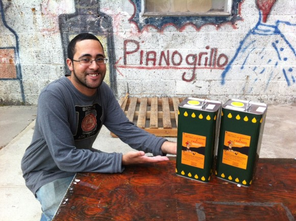 Ian with Pianogrillo