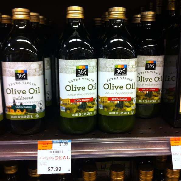 Whole Foods Brand Olive Oil