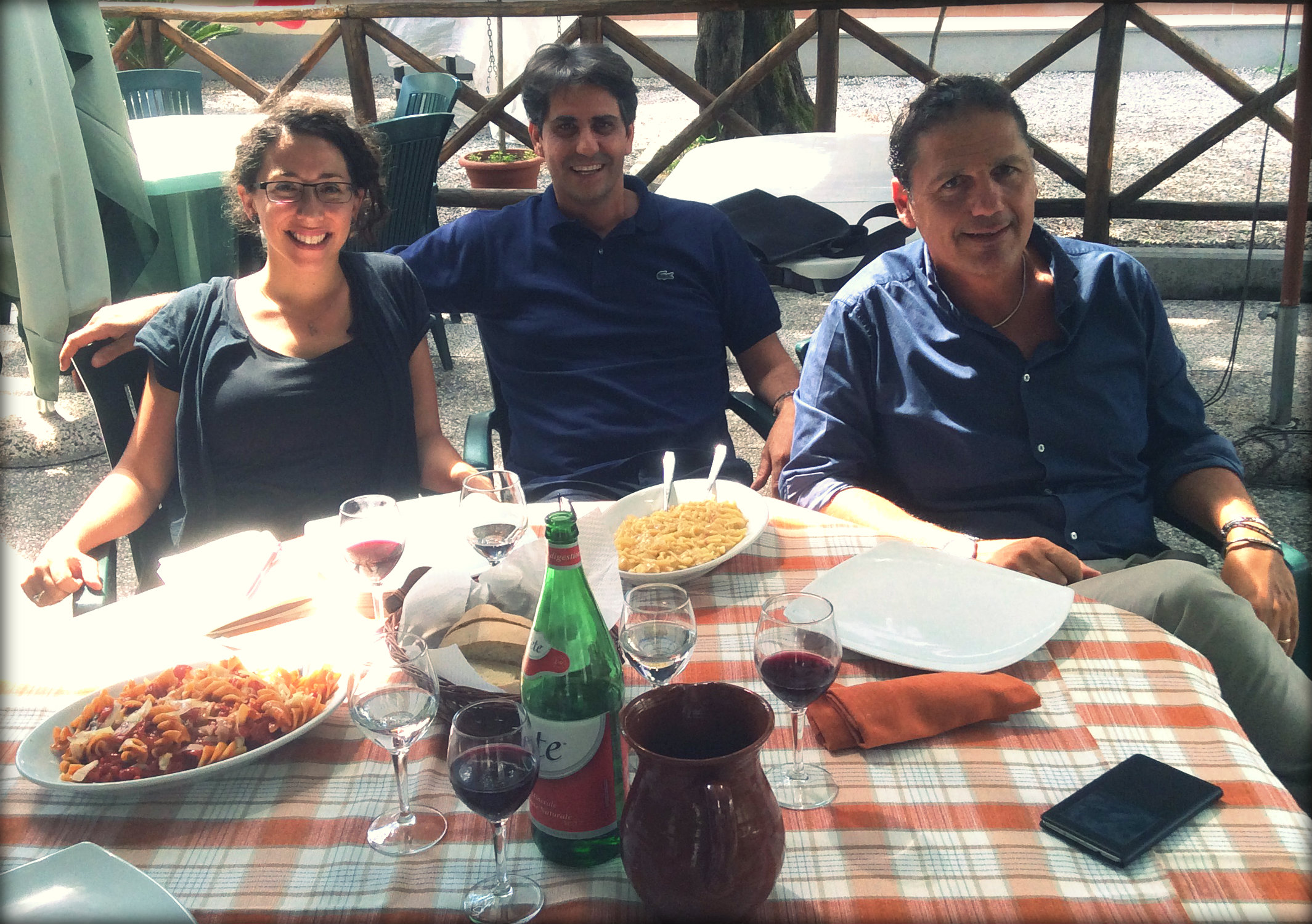 Gustiamo's Danielle, Sabatino, and Faella's Sergio